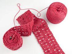 new crochet scarves