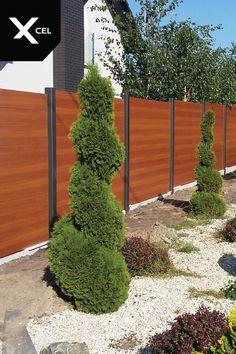 Horizon Massive. Modern aluminum fence by Xcel. // Horizon Massive Nowoczesne ogrodzenie aluminiowe Xcel.