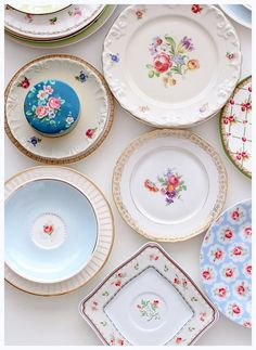 vintage china dishes