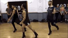 Watch These Guys Flawlessly Dance To Beyoncé While Wearing High Heels