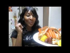 Spicy Steamed Snow Crabs w/Garlic Butter, Corn & Sausage Steamed Crab Legs, Steamed Crabs, Crab Recipes, Copycat Recipes, Recipies, Cooking Videos, What's Cooking, Cooking Recipes, Crab Boil Seasoning Recipe