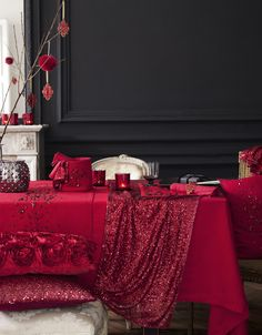 Boho Christmas Decorations Table ~ Beautiful ~ <3 <3 H Joulu 2012 - Coconut White - CASA Blogit