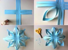 Bag ideas: the idea of Christmas decorations - Bag ideas: the idea of Christmas decorations - Easy Christmas Crafts, Simple Christmas, Christmas Ornaments, Christmas Star, Christmas Ideas, Craft Gifts, Diy Gifts, Diy Paper, Paper Crafts
