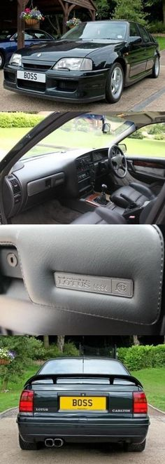 Vauxhall Lotus Carlton 1993. I would LOOOVE one of these.... boyhood dream car