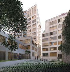 44 logements collectifs - Paris 18 : Nicolas Reymond Architecture & Urbanisme