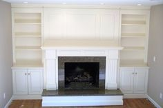 20 Best Fireplace With Cabinets Images Bookcases Home Decor