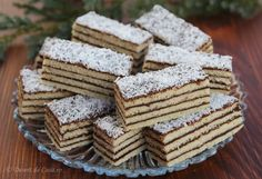 Veganism, Deserts, Cookies, Cat Ring, Houses, Sweets, Romanian Recipes, Kuchen, Crack Crackers