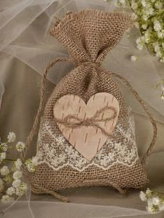 Natural Rustic Burlap Wedding Favor Bag Natural by Burlap Wedding Favors, Burlap Favor Bags, Wedding Favor Bags, Rustic Wedding, Wedding Gifts, Wedding Decorations, Wedding Set, Lace Wedding, Wedding Ideas