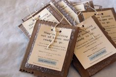 neat idea for an invite to a moving party
