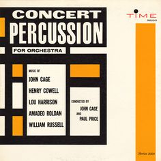 Project Thirty-Three: Concert Percussion for Orchestra (1961)