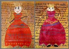 Arts visuels - rois reines Reine Art, Newspaper Art, Childrens Artwork, Twelfth Night, Learn Art, Arts Ed, Medieval Art, Art Classroom, Art Plastique