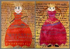 Reine Art, Newspaper Art, Childrens Artwork, Artist Journal, Twelfth Night, Learn Art, Arts Ed, Medieval Art, Art Classroom