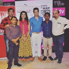 Some #memories from the #meet and #greet with the #starcast of #TV show Chupke Chupke on April 28, 2017. #NBTRangmanch #television #bollywood . . . . . #love #picoftheday #beautiful #stars #instadaily #celebrity #celebrities  #celebrities #celebritynews http://tipsrazzi.com/ipost/1505109063289298996/?code=BTjOLf5lGA0