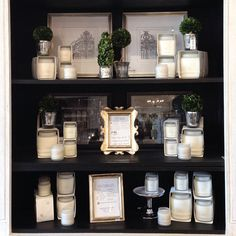 display day! subject: candles  #visualmerchandising   houseofproper's photo on instagram