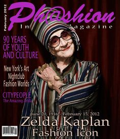 Another PHASHION magazine cover layout