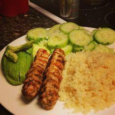 Ground Chicken/Turkey Kofta Kebabs