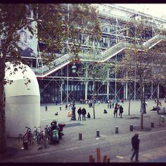 Déjeuner en face du Centre Pompidou - Paris #Minitl