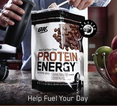 Each serving, 2 scoops, contains 20 grams of a quality blend protein along with roughly 120 milligrams of caffeinated energy which is just about equivalent to a 10 ounce cup of Joe (coffee). Protein Energy, Protein Blend, Whey Protein, Joe Coffee, Energy Supplements, Plant Based Protein, Baking Ingredients, Healthy Tips, Energy Drinks