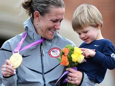 Gold medal mom: 'I felt selfish' training for Olympics - TODAYMoms