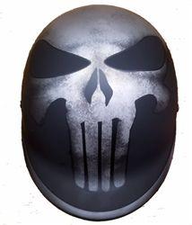 Novelty Helmets, Half Helmets, Open Face Helmets, Dot Approved Motorcycle Helmets, White Motorcycle Helmet, Skull Cap Helmet, Punisher Skull, Cool Motorcycles