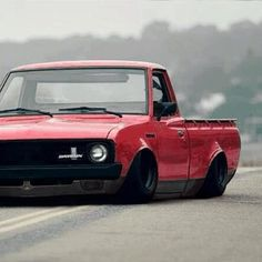 Mini truck bagged and bodied