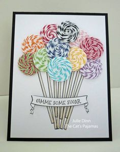 TCP196 - Gimme Some Sugar by stampinjewelsd - Cards and Paper Crafts at Splitcoaststampers