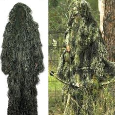 56.99$  Watch now - http://alifn1.worldwells.pw/go.php?t=32608802462 - Military Sniper Ghillie Suit Tactical Airsoft Wargame camouflage hunting clothes 56.99$
