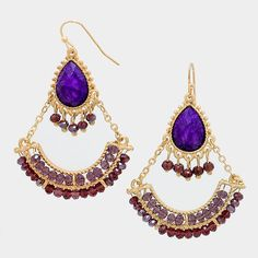 Matte gold, Purple