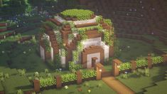 Minecraft Garden, Minecraft Farm, Minecraft Cottage, Cute Minecraft Houses, Minecraft Construction, Amazing Minecraft, Minecraft Blueprints, Minecraft Crafts, Minecraft Stuff