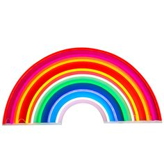 Rainbow love! Bring some colour into your home. Our biggest and brightest neon. VERY VERY LIMITED EDITION. The ultimate christmas present. 100 x 50 cm LE