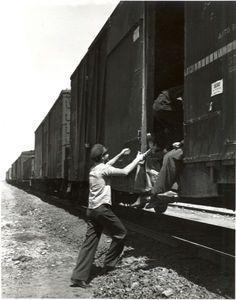 Open boxcar