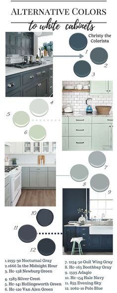 The Best Benjamin Moore Paint Colors for Cabinets - Home Decoration - Interior Design Ideas House, Interior, Home, Kitchen Colors, Remodel, House Designs Exterior, Kitchen Cabinet Colors, Kitchen Paint Colors, Kitchen Paint