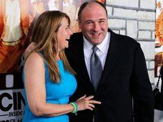 Lorraine Bracco + James Gandolfini