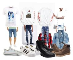 """""""SummerAutumnWinterSpring"""" by sickatheart-tsuki on Polyvore featuring American Rag Cie, AMI, Urban Outfitters, Dark Seas, Embellish, Diesel, Dsquared2, Hoxton, 21 Men and Common Projects"""