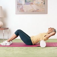 I love using a roller and these exercises are so simple to get the stiffness out and improve circulation.