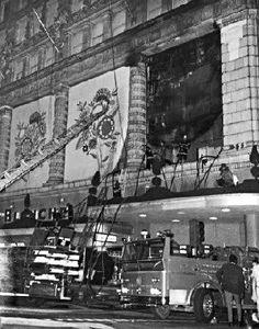 Maison Blanche fire 1968