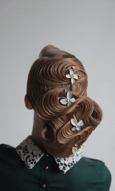 Artistic hair design #fullinspiration #stylists are artists-pin it from carden