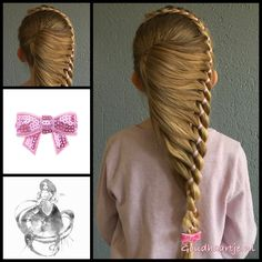 Ponytail into a four strand ribbon braid with a cute bow from the webshop www.goudhaartje.nl (worldwide shipping).   Hairstyle inspired by: @jane_haircraft (instagram)  #hair #hairstyle #braid #braids #plait #trenza #peinando #beautifulhair #longhair #blonde #gorgeoushair #stunninghair #hairaccessories #hairinspo #braidideas #hairstylesforgirls #sweethair #hairfeed #hairpost #ponytail #4strandbraid #ribbonbraid #4strandribbonbraid  #goudhaartje