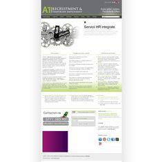 Site-ul firmei A1 Recruitment & Temporary Employment http://www.a1-recruitment.ro/