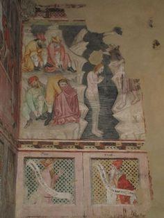 Affreschi della cappella Gallieri (cappella alla base del campanile) della Collegiata di Santa Maria della Scala a Chieri (TO) [1414-1418 circa]