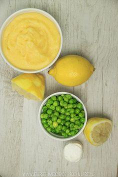 Cremige Polenta kochen mit Erbsen und Ziegenkäsen (vegetarisch) | Vegetarian creamy Polenta with pea and goat cheese