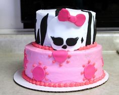 Michele Robinson Cakes Monster High Cake