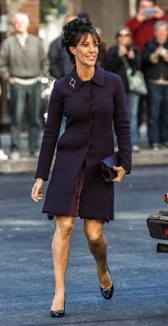 Danish Princess Mary arrives at the opening of the danish parliament, 01.10.13