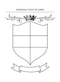 Personal coat of arms for kids | Interesting Ideas | Pinterest ...