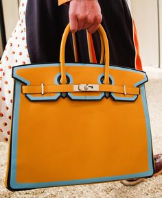 Your First Look at New Versions of the Hermès Birkin and Kelly, Straight From the Resort 2018 Runway - PurseBlog