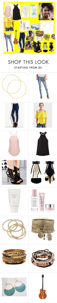 Derma's Outfit. by dgandreed on Polyvore featuring Haute Hippie, Hollister Co., Nine West, claire's, Amrita Singh, ABS by Allen Schwartz, Sisley and By Terry