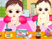 Free Online Girl Games, You have been put in charge of Sweety's Babies Care Center and you need to make sure all of the babies' needs are taken care of!  Give them toys, food, and help keep them entertained before they start crying!  Make sure you work quickly because these babies don't have much patience!, #baby #babysitting