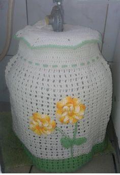 Capa flor <br>Feita em barbante <br>Pode se feita em cores diversas
