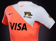Argentina Nike 2014 Rugby Sevens Home Jersey