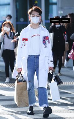 160425 #Key #SHINee Incheon arrival